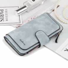 Long Money Cluch Leather Wallet for Womens