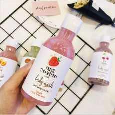 Top Quality Fruit Fragrance Body Wash Shower Gel Exfoliating Dead Skin...