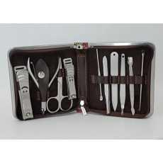 Stainless Steel Travel Kit Set Nail Manicure Pedicure 10 pcs