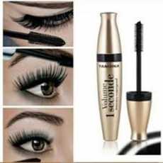 3D Fiber Mascara Long Black Lash Eyelash Extension Waterproof Eye Makeup Tool
