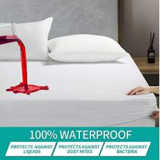 Waterproof_Mattress_CoverBed_CoverMattress_CoverFitted_sheetAnti-DustSingle...