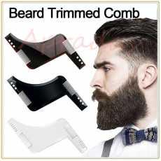 Beard Grooming Shaping Comb for Shaving Symmetric Beards Shaper Styling...