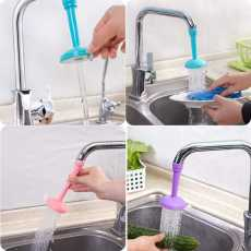 Silicone Kitchen Shower Splash Faucet Water-saving Filter Shower Water...