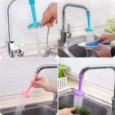 Silicone Kitchen Shower Splash Faucet Water-saving Filter Shower Water...