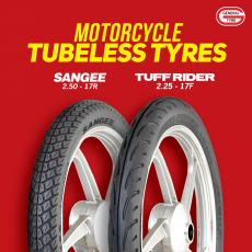 CD70 Tubeless Tyre for motorcycle - General Tyres