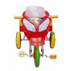 Turbo Baby Tricycle Rubber Foam Tyre Music With Lights