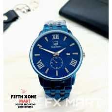 TRUE WORTH Wrist Watch Men Watch Fashion Sleek Minimalist Quartz Analog Mesh...