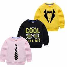Kids Printed Sweatshirt-Multicolor
