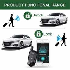 GIORDON Car Alarm System Auto Security System