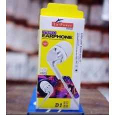 Universal D1 handfree D 1 handsfree  STERO universal earphones