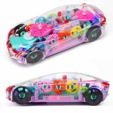 Concept Car, 3D Toy for Kids with 360 Degree Rotation, Gear Simulation, Music...