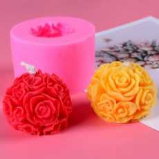 flower shape scented  tealight candles