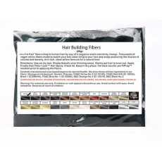 Refill Bag - Hair Building Fiber - 25 Gram Thickener