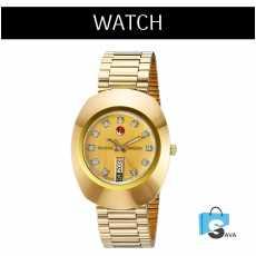 Golden Men Quartz Watches Men's Fashion Casual Leather Sports Wrist Watch Male