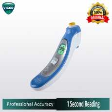 Vicks Thermometer Gentle Touch Behind The Ear - V980 - Lake Blue