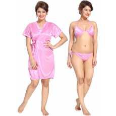 Women's Nightie with Robe, girls nighties