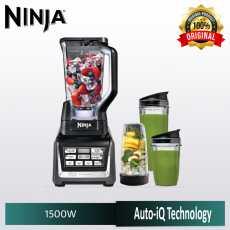 Nutri Ninja BL642me Blender - 1500 watt with Auto-iQ - Three Nutri Ninja cups