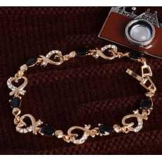 Love Heart Chain Bracelet, Bracelet for girls, Bracelet for women, Bracelet...