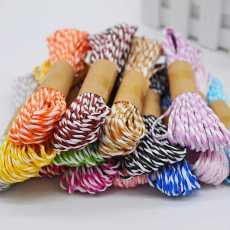 China Dori / Twisted Paper String Cords for DIY Craft Making Raffia Craft,...