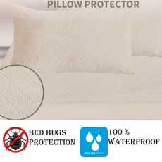 HIGH LIVING ANTI-BUGS QUILTED PILLOW COVER PAIR
