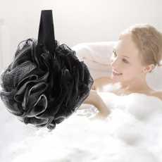 Bath Ball Mesh Sponge 1 PC Milk Shower Accessories Bathroom Supplies