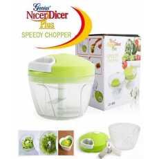 Multifunctional Mini Speedy Chopper Manual Hand Pull Vegetable & Meat Mini...