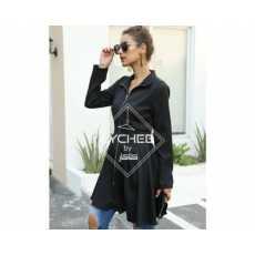 Zipper Long Coat