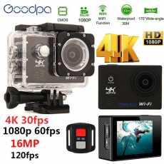 Hot Selling Waterproof Action Camera Deportiva Ultra 4K Full HD 1080P DVR...