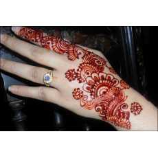 Pack of 2 Bhabhi Bridal Dark Mehroon Cone Mehndi