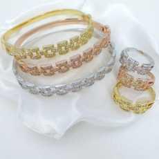 Bracelets & Ring 3+3 Combi set