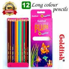 Goldfish Color Pencils 12 Pcs Box Pack