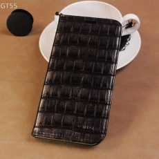 Crocodile Style Flip Book Case For Huawei P30 lite