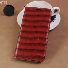 Crocodile Style Flip Book Case For Huawei Y7 Prime 2019