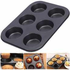 Cupcake Baking Tray Cupcake Pans Nonstick Baking Pan Muffin for Oven Toaster...