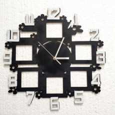 Wooden wall clock stylish design (16x16) inch