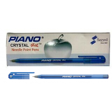 Piano Crystal Gel Pens - Pack of 10 pens - Ball pen   5 blue and 5 black