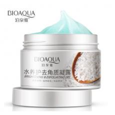 BIOAQUA Rice Gel Scrub Smooth Moisturizing Skin Care Brightening Face Cream...
