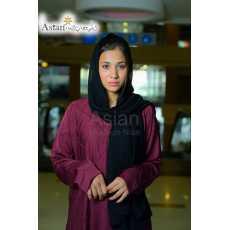 Front Pintex Maxi Style Abaya