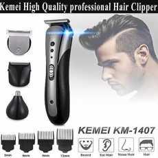 Kemei Km 1407 3 in 1 multi function Shaving ,Trimmer Kit