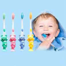 Toothbrush for Kids- Kids Tooth brush- Set of 4 Multicolor- Best Quality in...