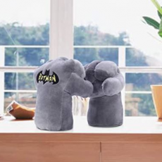 1 Pc Stuffed Soft Toys for Kids- Batman Punch Stuff Toy for Girls and Boys-...