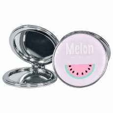High Quality Folding Mirror Pocket Mirror Unbreakable 2 in 1 Plain Mirror &...