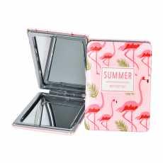 High Quality Folding Mirror Pocket Mirror Unbreakable 2 in 1 Plain Mirror &...