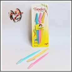 Tinkle Eyebrow Razor, pack of 3 Eyebrow shaper, Multipurpose tool trimmer,...