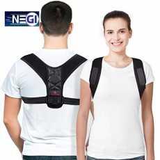 Posture Corrector Belt Adjustable - Back Pain Relief Shoulder Back Support...