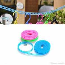 Plastic Cloth Hanging Rope Clothesline - 5 Meters