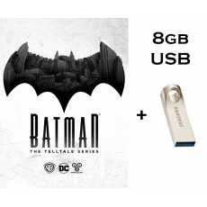 Batman The Telltale Game (in 8gb USB Brand New) Complete Episodes - Complete...
