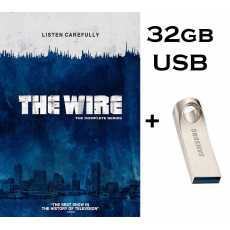 The Wire - All Seasons 1-5 Complete T.V Series In 32gb Brand New USB