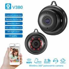 V380 Wifi 1080P Camera Wireless CCTV Infrared Night Vision Motion Detection