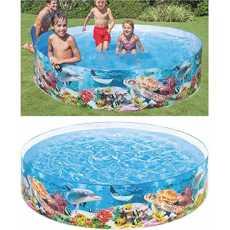 Intex Ocean Reef Snapset Inflatable Pool 4x10